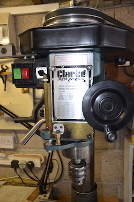 front view clarke CMD1225 milling machine for sale
