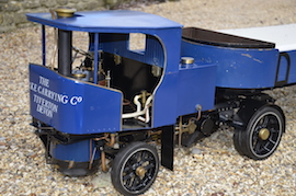 "cab view 2"" Clayton live steam wagon truck for sale"