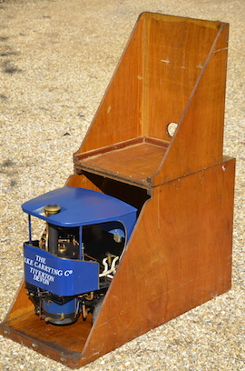 "box view 2"" Clayton live steam wagon truck for sale"