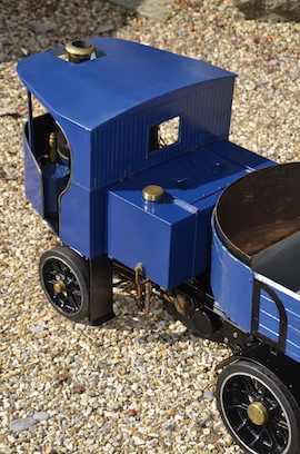 "tank view 2"" Clayton live steam wagon truck for sale"