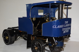 "right view 2"" Clayton live steam wagon truck for sale"