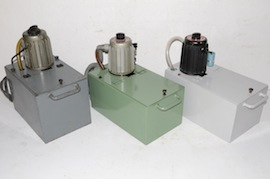 front view Myford coolant pumps & tanks for sale