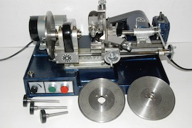 main view cowells cw90 clockmakers  lathe for sale