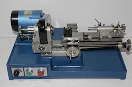 front view  cowells cw90 wheel and pinion cutter clockmakers lathe for sal