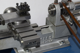 back view cowells cw90 clockmakers  lathe for sale