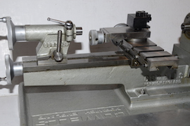 back view  Cowells HS90 high speed clockmakers lathe for sal