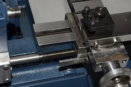 topslide view cowells me90 lathe  for sale