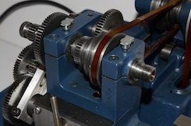 gear view cowells me90 lathe  for sale