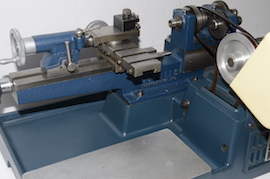 head view cowells me90 lathe  for sale