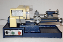 front view Cowells ME90   lathe for sale