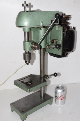 Main view Cowells small pillar drill for sale