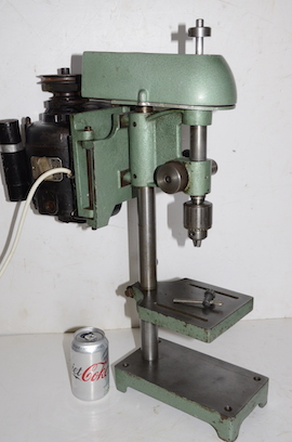right view Cowells small pillar drill for sale