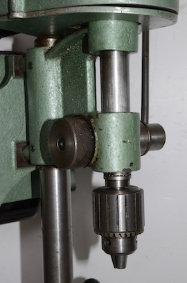 rack view Cowells small pillar drill for sale