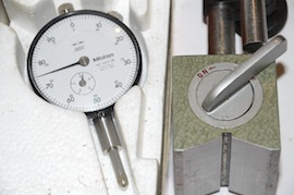 dial view mitutoyo dial gauge magnetic base for sale