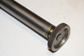 top view Myford column arm for dial gauge for sale