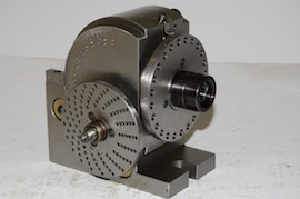 main view dividing head & tailstock for milling machine for sale