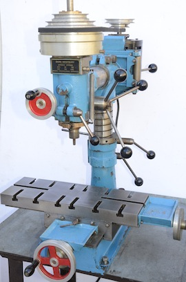 main view dore westbury milling machine  for sale