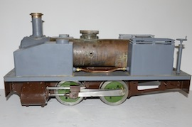 "main view Dougal 5"" live steam loco 040 tank for sale"