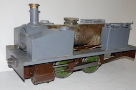 "main2 view Dougal 5"" live steam loco 040 tank for sale"