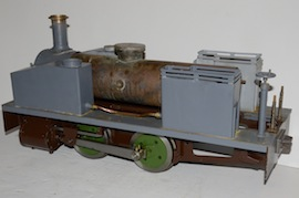 "main3 view Dougal 5"" live steam loco 040 tank for sale"
