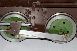"wheel view Dougal 5"" live steam loco 040 tank for sale"