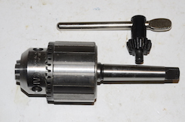 main view Jacobs No 34 drill chuck for sale