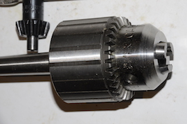 back view Jacobs No 34 drill chuck for sale