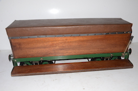 "main 5"" live steam driver's truck braked passenger wagon for sale"