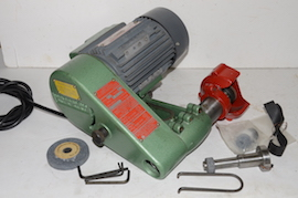 main view Duplex D27 tool post grinder for sale