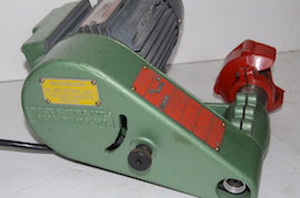 spindle view Duplex tool post grinder for sale