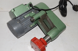 bottom view Duplex tool post grinder for sale