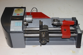 front view emco SL unimat 3 4 lathe for sale