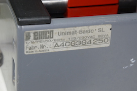 label view emco SL unimat 3 4 lathe for sale