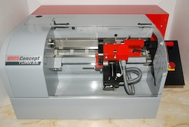 front view emco concept turn 55 cnc lathe for sale