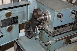 gears Emcomat 7 Emco lathe with milling column head attachment for sale