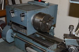 chuck Emcomat 7 Emco lathe with milling column head attachment for sale