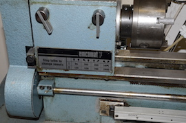 speeds Emcomat 7 Emco lathe with milling column head attachment for sale