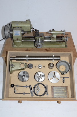 main view emco unimat selecta SL lathe for sale