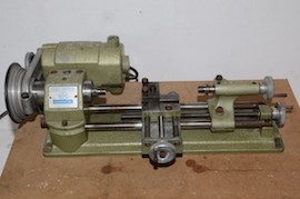 front view emco unimat selecta SL lathe for sale