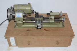 onbox view emco unimat selecta SL lathe for sale