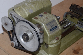 pulley view emco unimat selecta SL lathe for sale