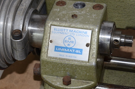 spindle view emco unimat selecta SL lathe for sale