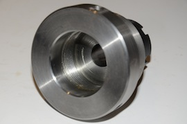 thread view myford er25 collet holder for big bore spindle lathe  for sale