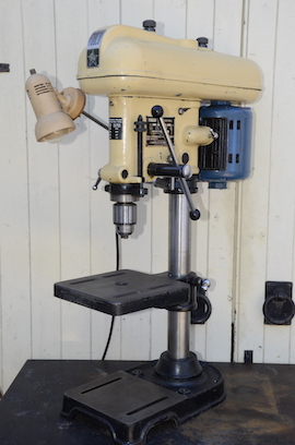 Fobco star bench mounting pillar drill for sale main view