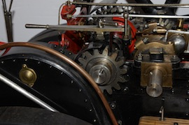 "gear2 view Fowler 2"" live steam traction engine for sale"