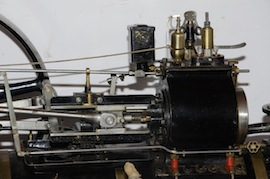 "motion view Fowler 2"" live steam traction engine for sale"