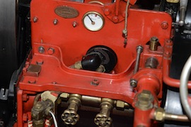 "gauge view Fowler 2"" live steam traction engine for sale"