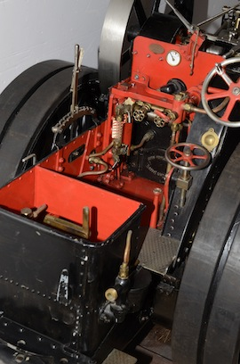 "controls view Fowler 2"" live steam traction engine for sale"