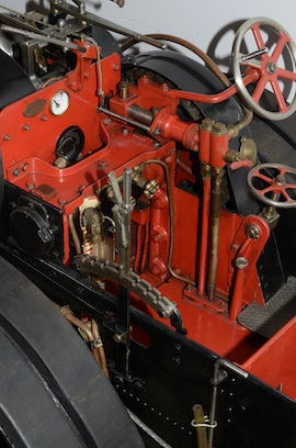 "cab view Fowler 2"" live steam traction engine for sale"