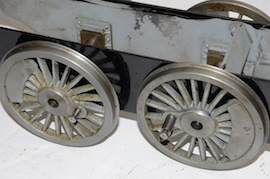 wheels2 view Lickham Hall GWR LBSC 460  live steam loco engine for sale
